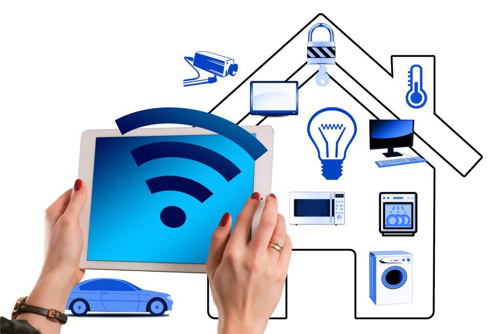 smart home installatie